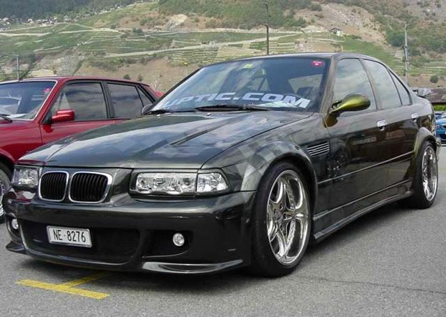 B BMW 525/b тюнинг, технические.